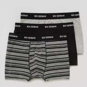 ed3d7737bd Ben Sherman Mens Trunks 3 Pack was £16 now £8 @ Matalan