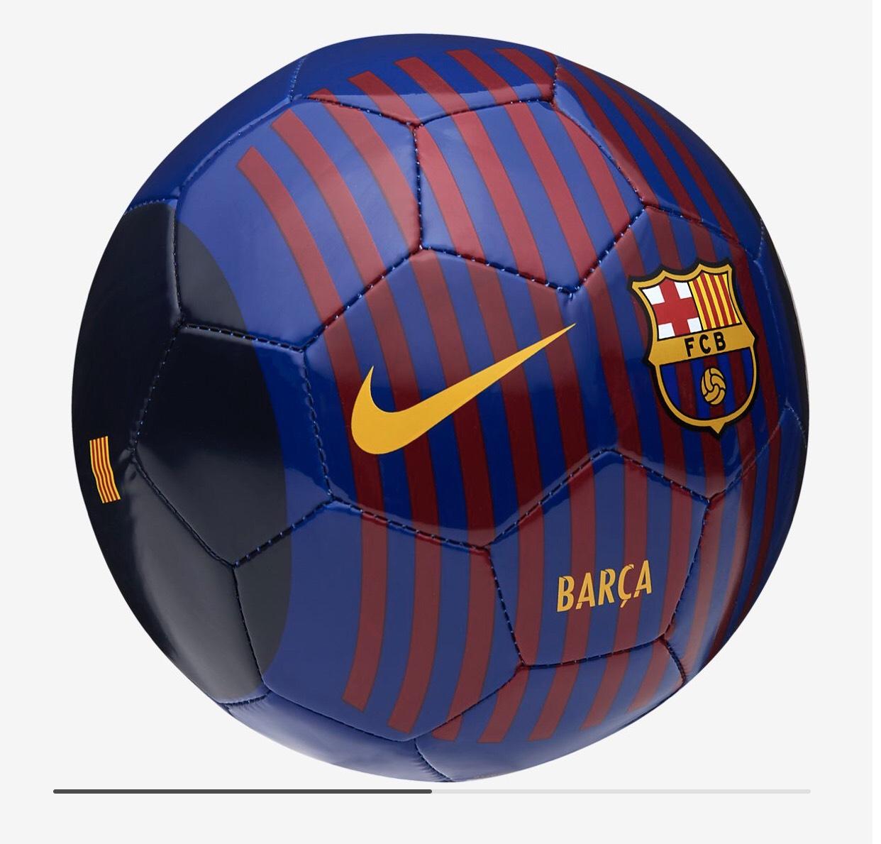 Barcelona Football Size 1 @ Nike store - £5.18