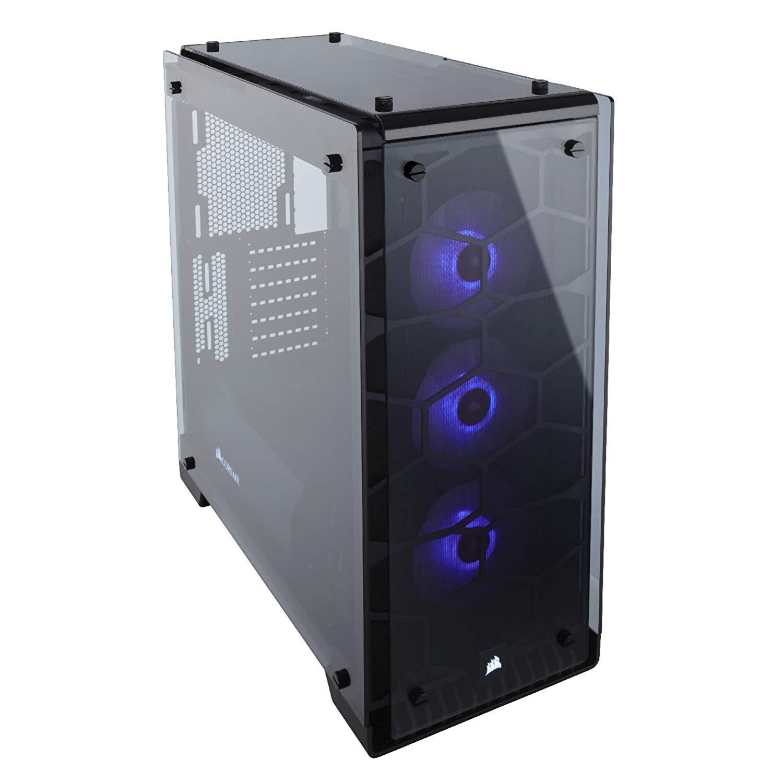 Corsair 3 x 120 mm Crystal Series 570X RGB Mid Computer Tower @ Amazon - £125