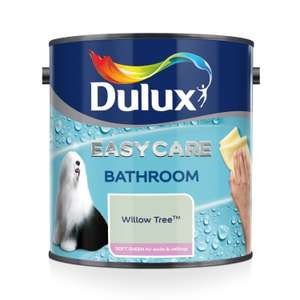 Dulux Easycare Bathroom Soft Sheen Emulsion Paint For Walls And Ceilings - Willow Tree 2.5L £15.99 (Prime) £20.48 (Non Prime) @ Amazon