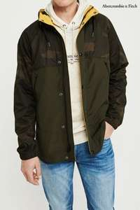 Abercrombie and Fitch Men's Camo Wind Breaker jacket + delivery to local store RRP £98 - £36 @ Next