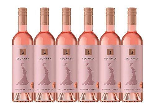 Rose Wine, 75 cl, Case of 6 - £2.13 a Bottle - Condesa de Leganza Family Selection 2016
