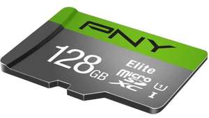 PNY Elite MicroSDXC Memory Card Class10 100MB/s UHS-1,U1 with SD Adapter - 128GB for £13.99 (64GB for £7.79) Delivered @ 7Dayshop