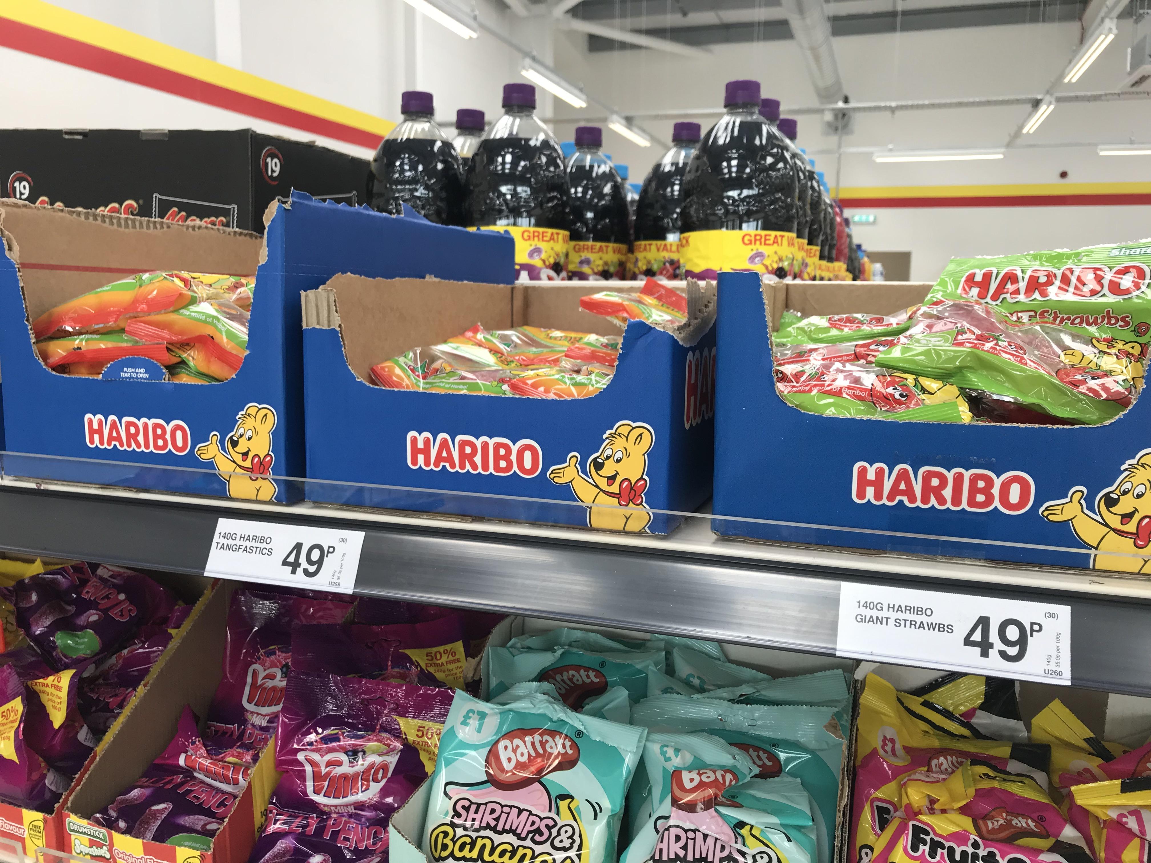 Haribo 140g bags 49p @ FarmFoods instore