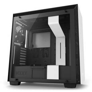 NZXT H700 ATX Tempered Glass Mid-Tower PC Gaming Case - Matte White £130 @ AWD-IT