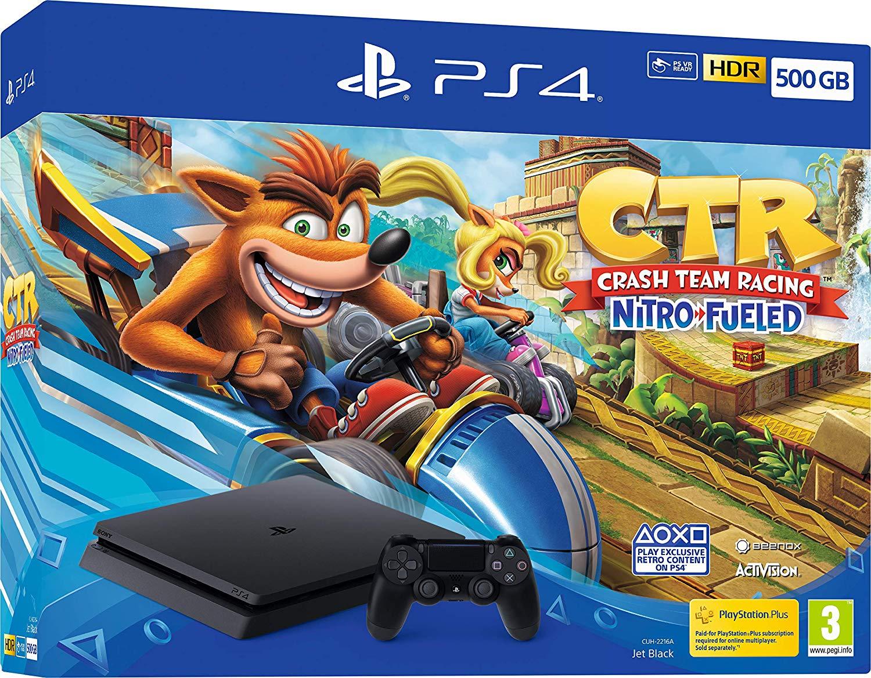 Crash Team Racing Nitro-Fueled 500GB PS4 Cinsole Bundle  £249.99 @ Amazon