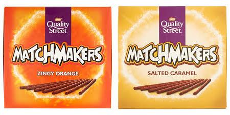 Quality Street Matchmakers Zingy Orange / Salted Caramel @ Heron Foods - 79p