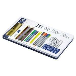 Staedtler 31-Piece Stationery Tin - was £22, Now £5.50 Instore @ Tesco (Yeovil)
