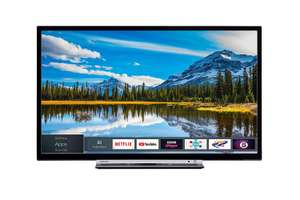 Toshiba 32L3863DBA 32-Inch Smart Full-HD LED TV with Freeview Play - Black/Silver (2018 Model) - £179 @ Amazon
