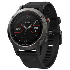 Garmin Fenix 5 Multisport GPS Watch with Outdoor Navigation and Wrist-Based Heart Rate - £299 @ Amazon