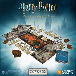 Harry Potter: Miniatures Game: Adventure Game Core Box plus expansions discounted - £54.99 @ ForbiddenPlanet