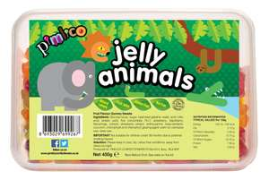 Pimlico Halal Jelly Animals Sweets 450g now £1.00 Instore at Asda (Clapham Junction)