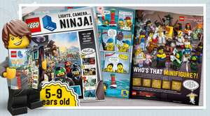 Free Lego Life Magazine - With Creation of a Free Lego ID Account
