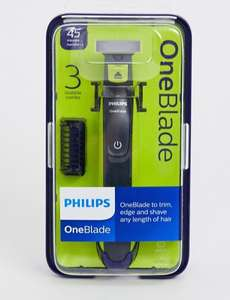 Philips One Blade with 3 Combs qp2520 £26.79 (£24.11 new users) @ Asos