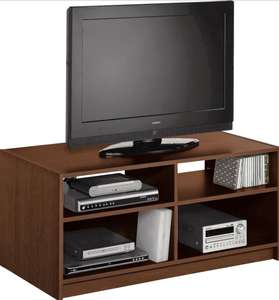 Argos Home Maine TV Unit - Walnut Effect / Grey - £29.99 + Free C&C @ Argos
