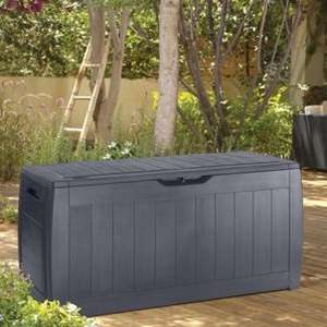 Keter Hollywood Patio Garden Storage Box Anthracite - £20 Instore / Online @ Wickes