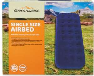 Single Airbed - £4.99 Instore @ Aldi (Mansfield)