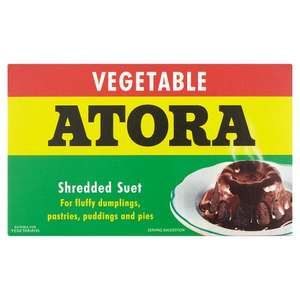Atora 200g Vegetable suet 10p  @ B&M