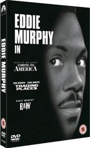 Eddie Murphy Triple-Bill [DVD Box Set] - Coming To America/Trading Places/Raw - used - delivered @ MusicMagpie £1.29