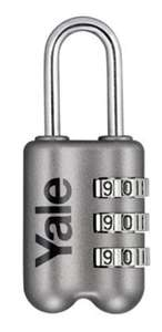 Yale YP2/23/128/1G Locks YP2 Combination Padlock-Grey now £4.99 (Prime) + £4.49 (non Prime) at Amazon