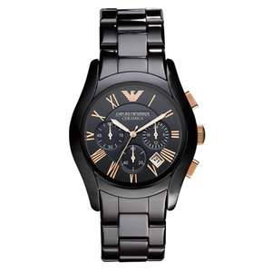 Emporio Armani Men's Ceramic Chronograph Watch | AR1410 | £99 Delivered With Code ~SUMMER10~ [& With Warranty] @ JB Watches