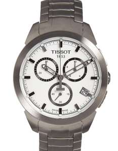 Tissot T-Sport 43Mm Qtz TITANIUM White Dial Men's Watch £199 @ Tkmaxx