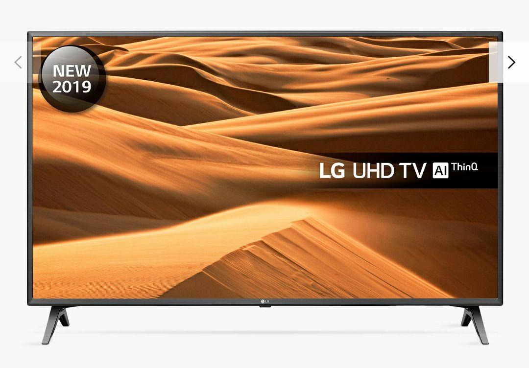 "LG 50UM7500PLA LED HDR 4K Ultra HD Smart TV, 50"" with Freeview Play/Freesat HD, Ultra HD, Black & Titan £449 @ John Lewis & Partners"