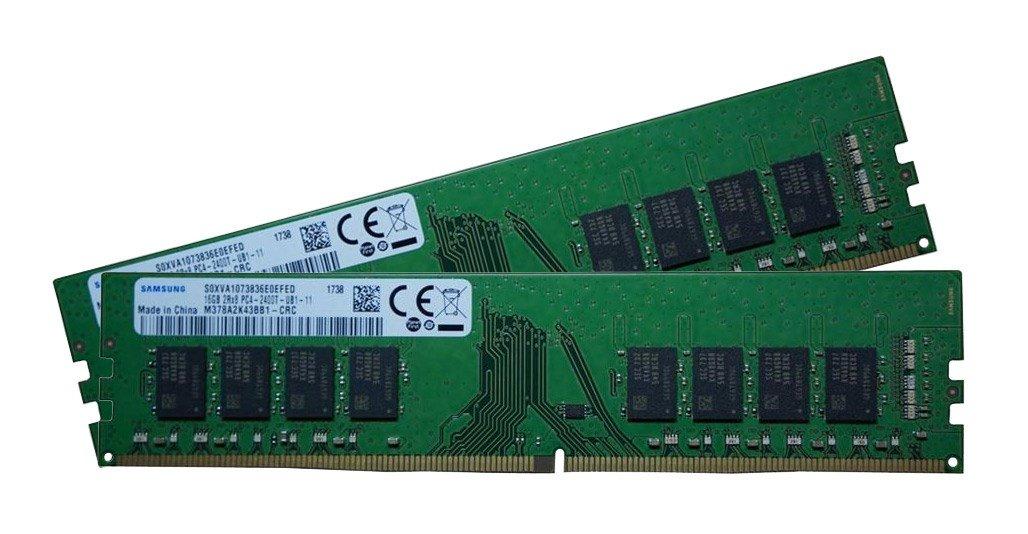 Samsung 32GB (2x 16GB) 2400MHz CL17 DDR4 RAM £107.78 @ CCLOnline