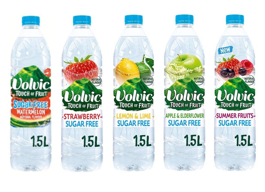 Volvic Touch of Fruit Sugar Free 1.5L - (Watermelon/Strawberry/Lemon & Lime/Apple & Elderflower/Summer Fruit) - 52p @ Tesco (from 08/07)