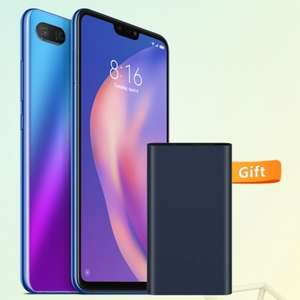 Live Now - Xiaomi Mi 8 Lite 4GB 64GB + Free 10,000mAh Powerbank £134 (Via App) + Note 6 pro £104 @ Mi Store Uk