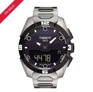 Tissot T-Touch Expert Solar Mens Titanium watch down from £835 to£485 with code @ Ernest Jones