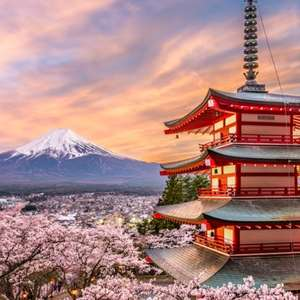 (Flights Only) Visit Rome and Tokyo (Departing London Gatwick or London Stansted  / Dec - Mar departures) £285 @ Various