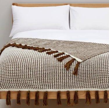 Argos Home Multi Knitted Throw - was £30 now £9  + Free C&C @ Argos