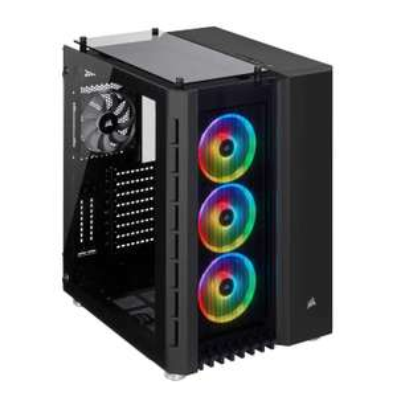 Corsair Crystal Series 680X RGB High Airflow Tempered Glass ATX Smart Gaming Case - Black £155.34 @ Amazon
