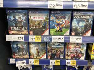 [PS4] Assassins Creed Odyssey  and others £22 instore @ Tesco