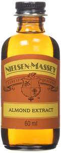 Nielsen-Massey Pure Almond Extract 60 ml (Pack of 8) @ Amazon £9.40 Prime £13.79 Non Prime