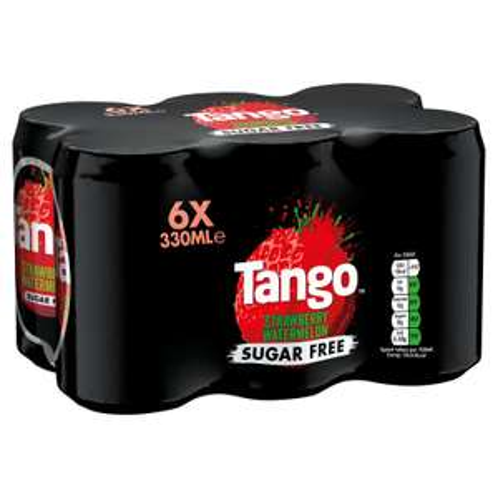 Tango 6 X 330ml Sugar Free Strawberry Watermelon / Orange / 7UP, £1.50 @ Iceland