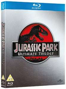 Jurassic Park: Trilogy Collection [Blu-ray] 2011 - used - £.3.39 delivered @ MusicMagpie