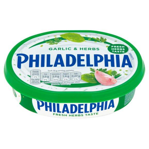 Philadelphia Garlic & Herb / Chive / Original / Light, Now £1 @ Iceland