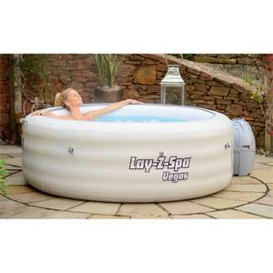 Lay-Z-Spa Vegas (4-6 person) £299 -  Homebase C&C (£10 more for delivery)