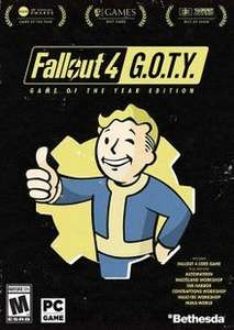 [Steam] Fallout 4: Game of the Year Edition PC £7.79 @ CDKEYS