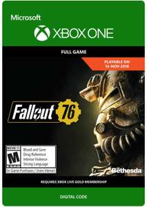 Fallout 76 Xbox One (Digital) £9.99 @ cdkeys