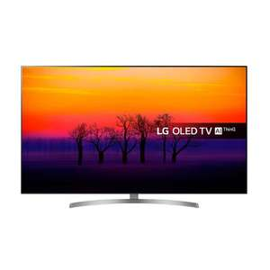 LG OLED55B8S 55 inch OLED 4K Ultra HD HDR Smart TV Freeview Play £999 with code + 6 year warranty @ Richer Sounds