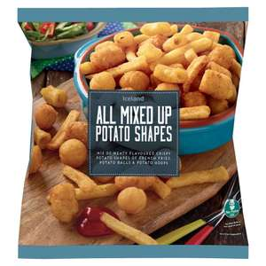Iceland All Mixed Up Potato Shapes 700g - £1 instore