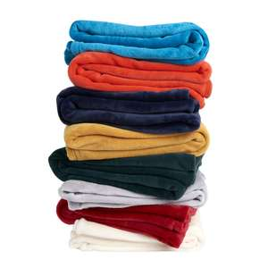 Wilko Ultrasoft Throws 8 Colours Available   120 x 150cm  £4.00 @ Wilko (free C&C)