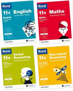 Bond 11+: English, Maths, Verbal Reasoning, Non-verbal Reasoning: Assessment Papers - £8.99 in store @ Costco Birmingham