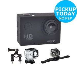 Vibe Action Camera - 1080p HD 16MP Water Resistant Action Camera and Accessory Kit - £14.99 C&C @ Argos / eBay