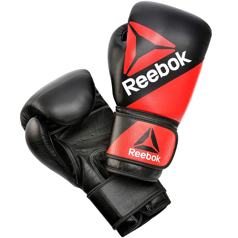 Reebok 14 oz Leather Training Glove now £17.99 (Prime) + £4.49 (non Prime) at Amazon