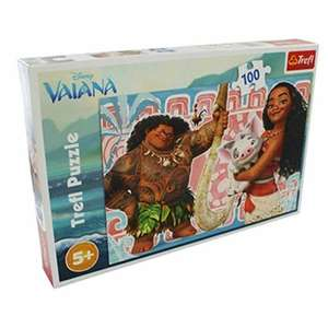 Disney Moana 100 Piece Jigsaw Puzzle - £2 @ TheWorks + free click and collect