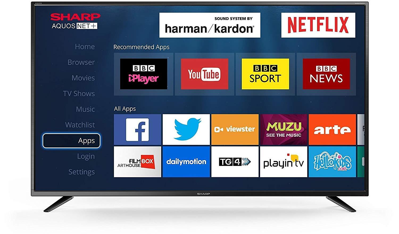 Sharp LC-50UI7422K 50 inch 4K UHD Smart LED TV with Harmon Kardon Speakers £289.98 Online / £299.98 instore @ Costco